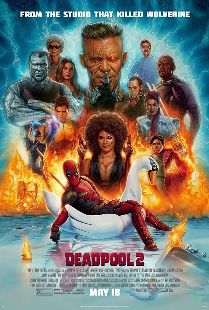 Deadpool 2 (2018) English HDCAM-Rip - 720p - x264 - MP3 - 800MB