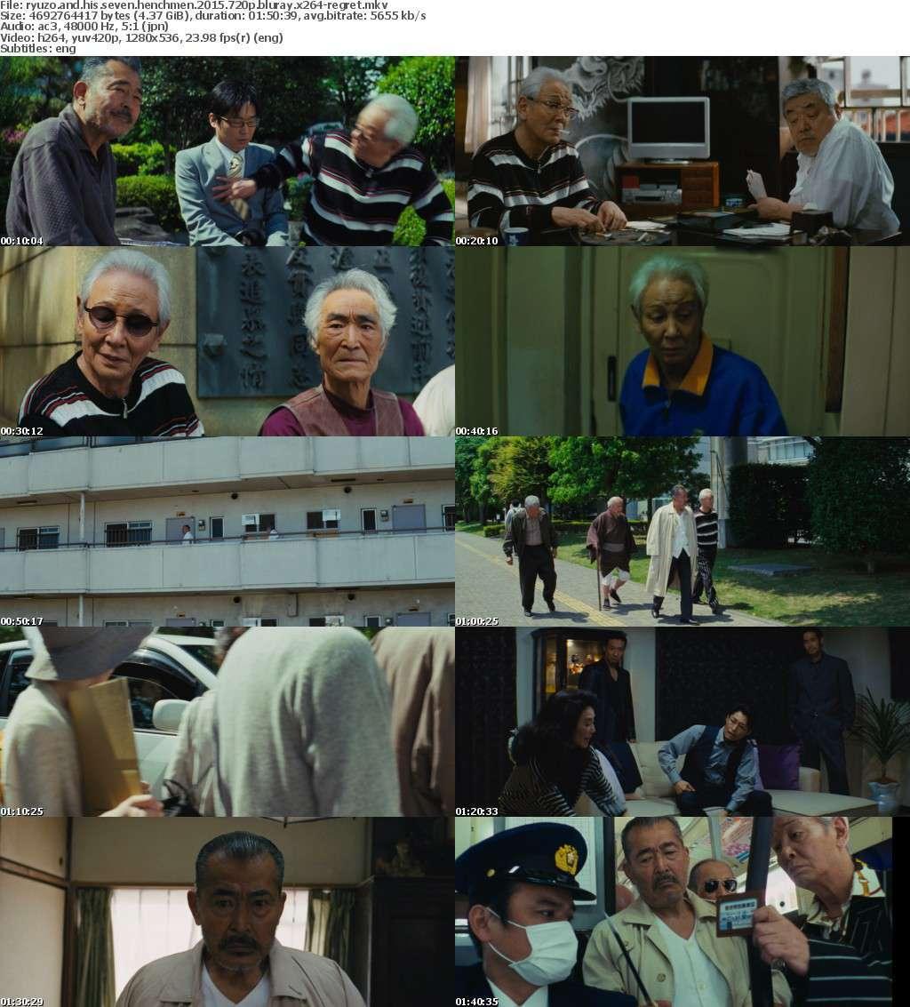 Ryuzo and His Seven Henchmen 2015 720p BluRay x264-REGRET
