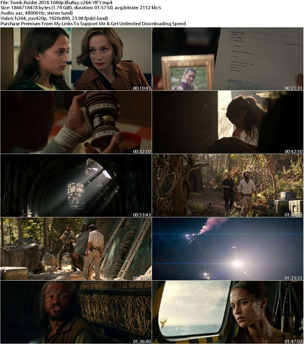 Tomb Raider (2018) 1080p BluRay x264-YIFY