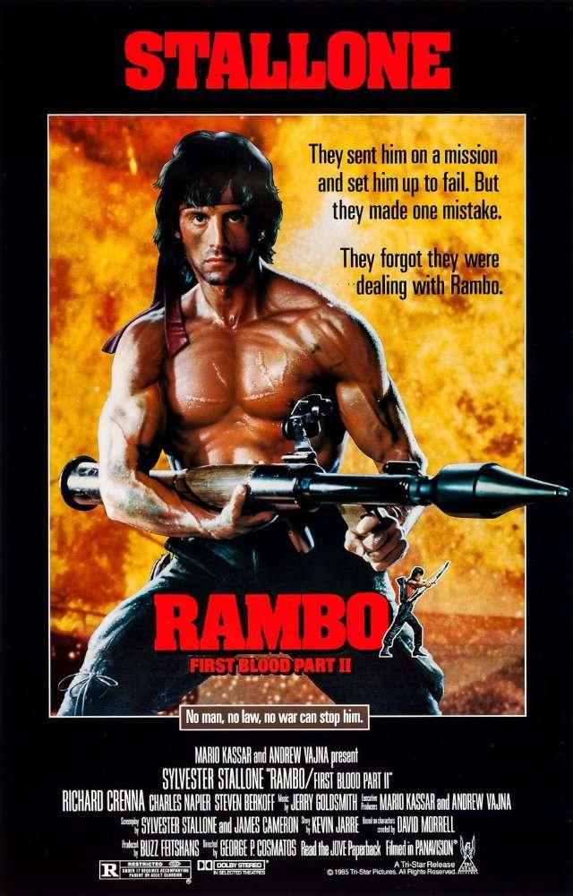 Rambo First Blood Part II (1985) 720p - BDRip - - ESub -