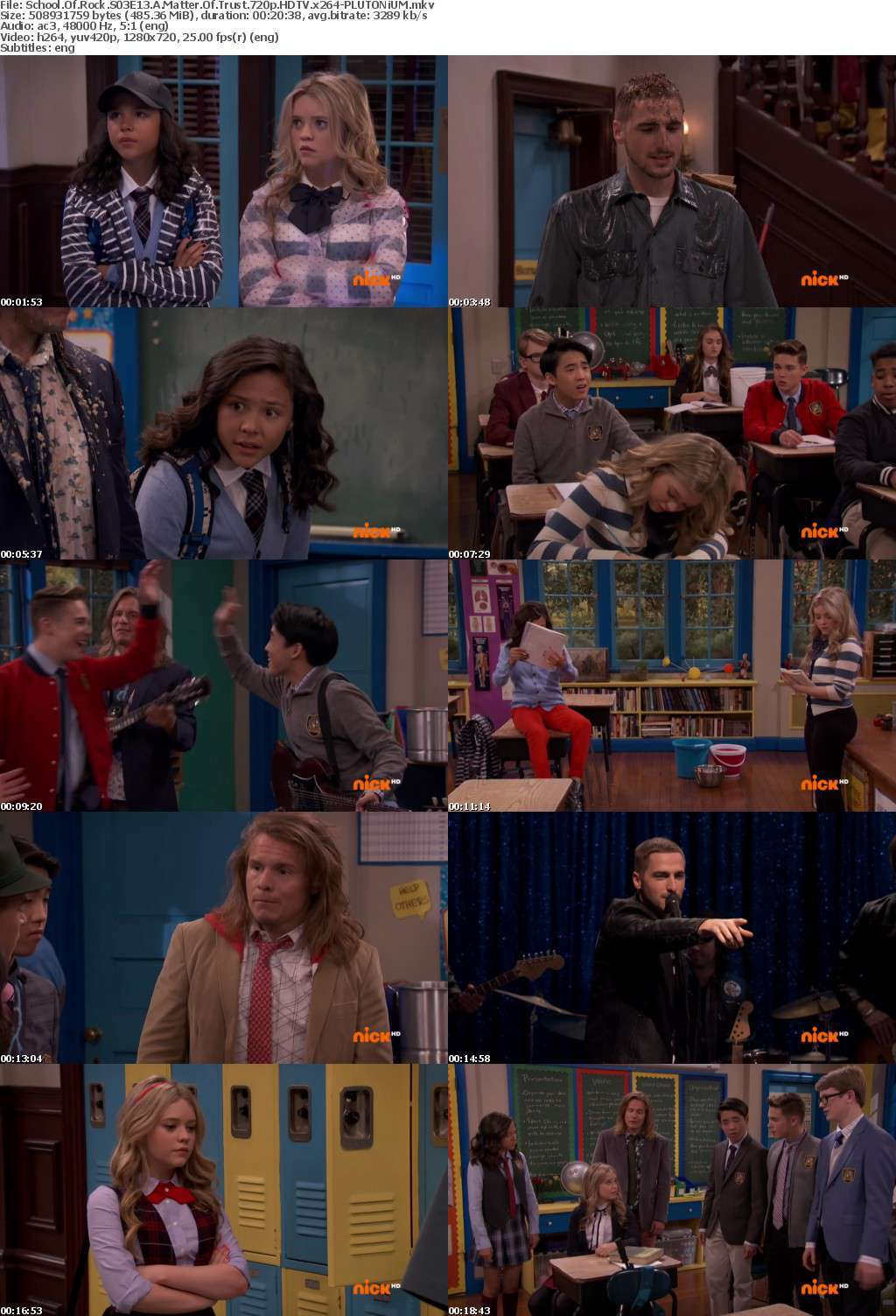 School Of Rock S03E13 A Matter Of Trust 720p HDTV x264-PLUTONiUM