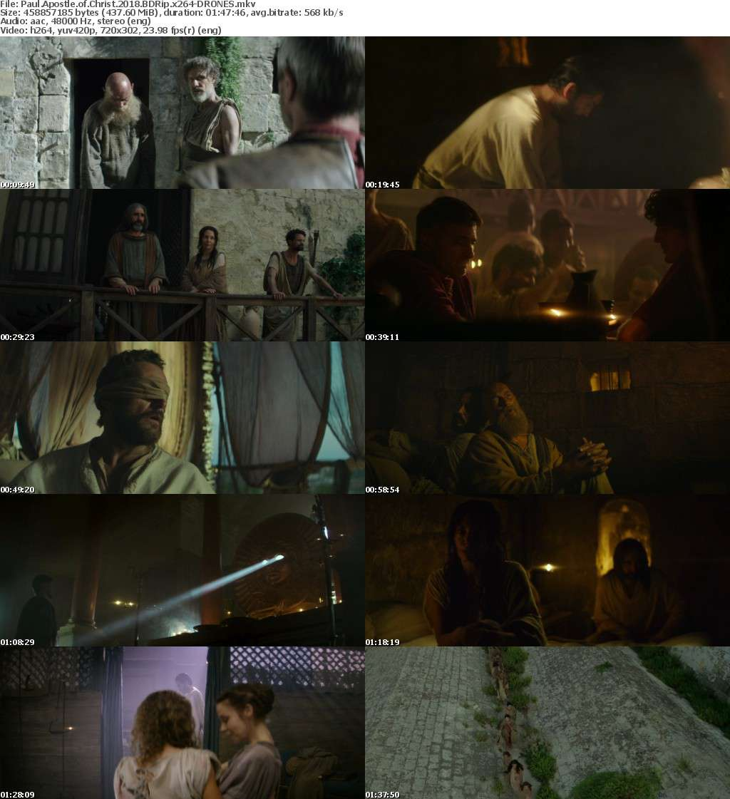 Paul Apostle of Christ 2018 BDRip x264-DRONES