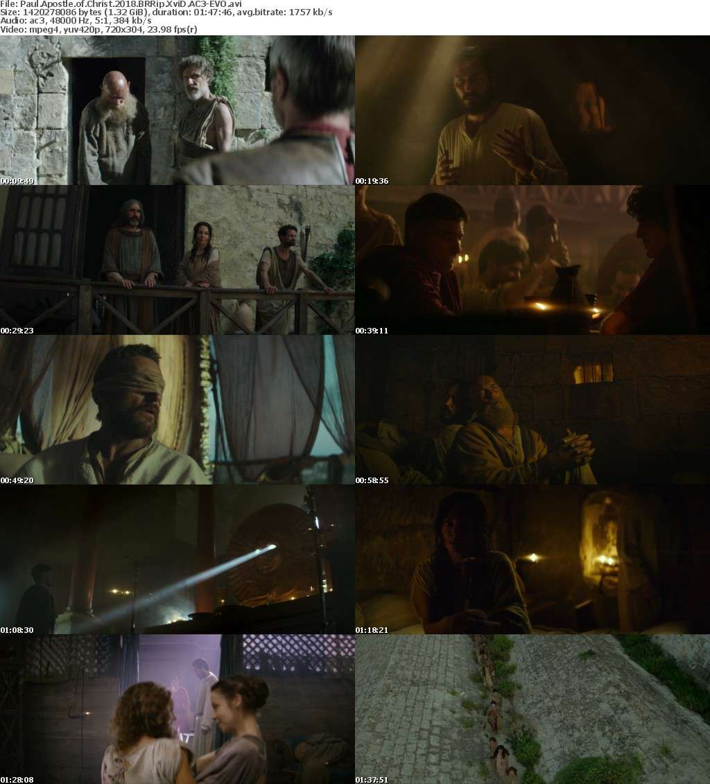 Paul Apostle of Christ (2018) BRRip XviD AC3-EVO
