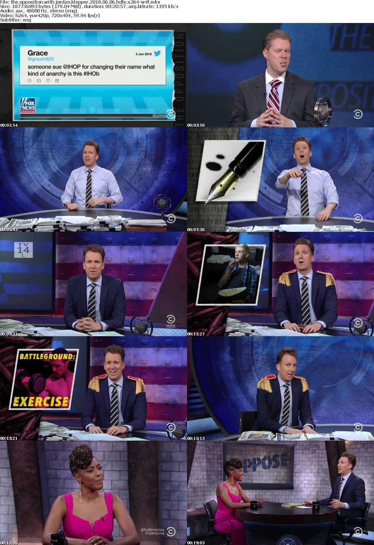 The Opposition with Jordan Klepper 2018 06 06 HDTV x264-W4F
