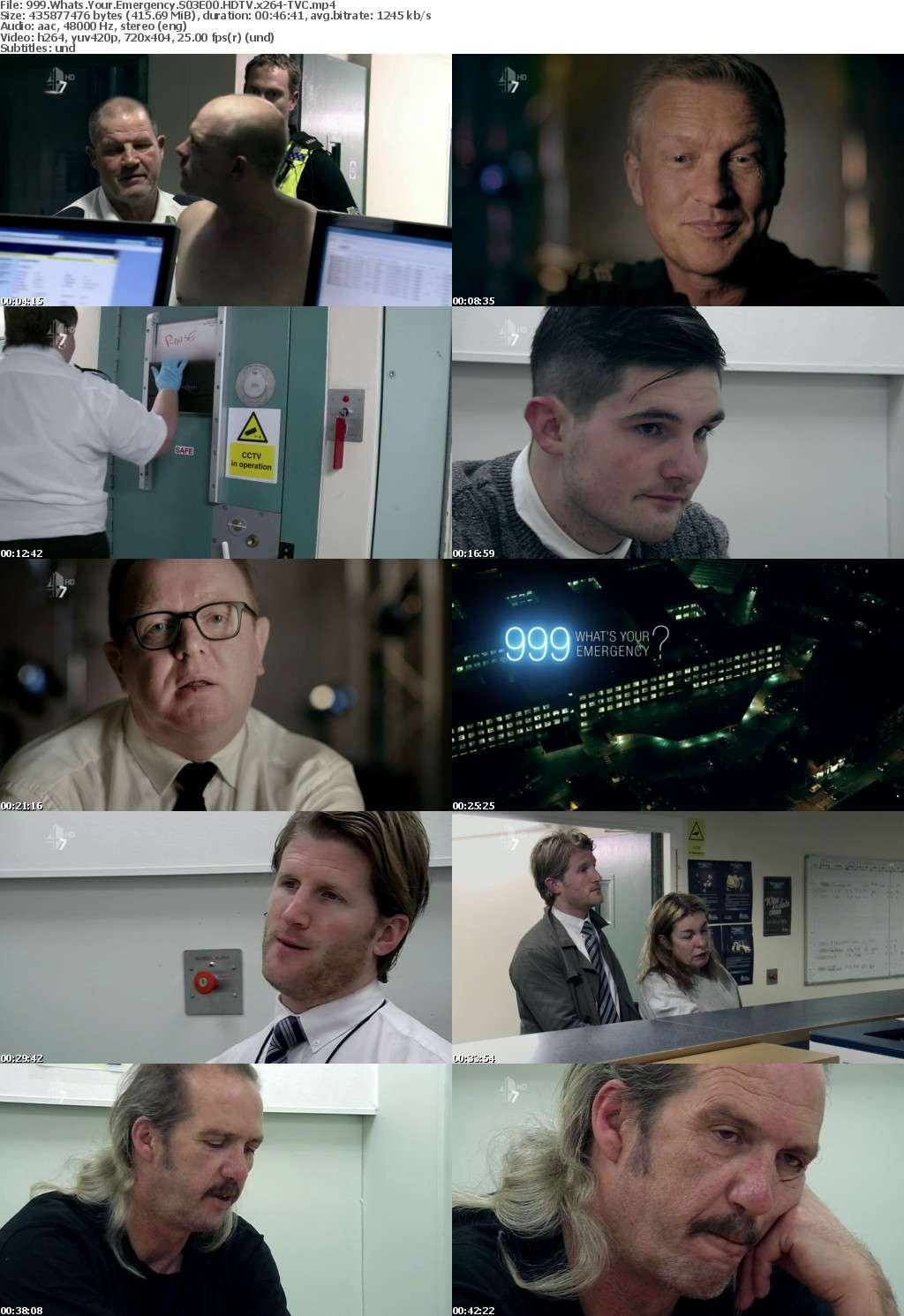 999 Whats Your Emergency S03E00 HDTV x264-TVC