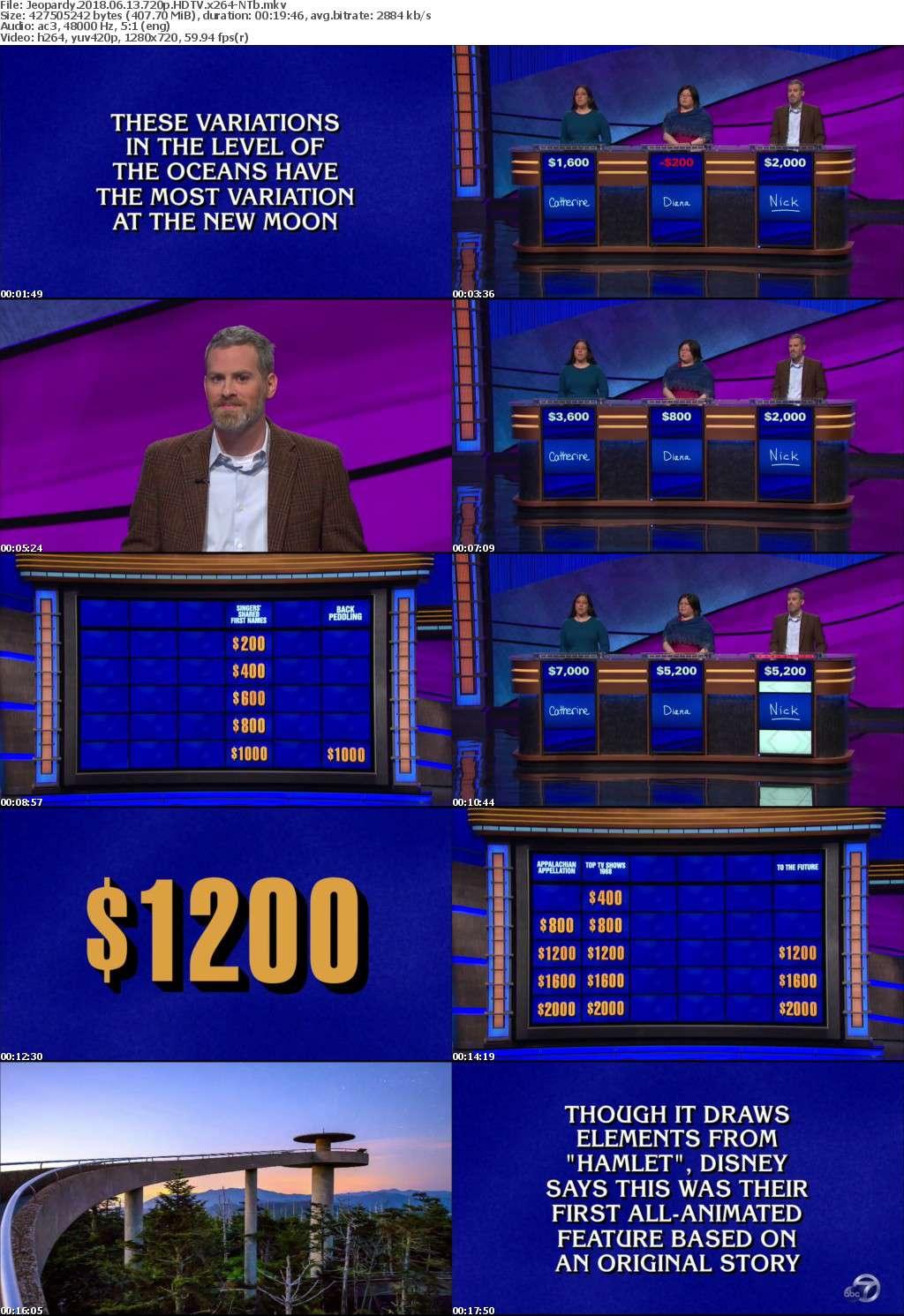 Jeopardy 2018 06 13 720p HDTV x264-NTb