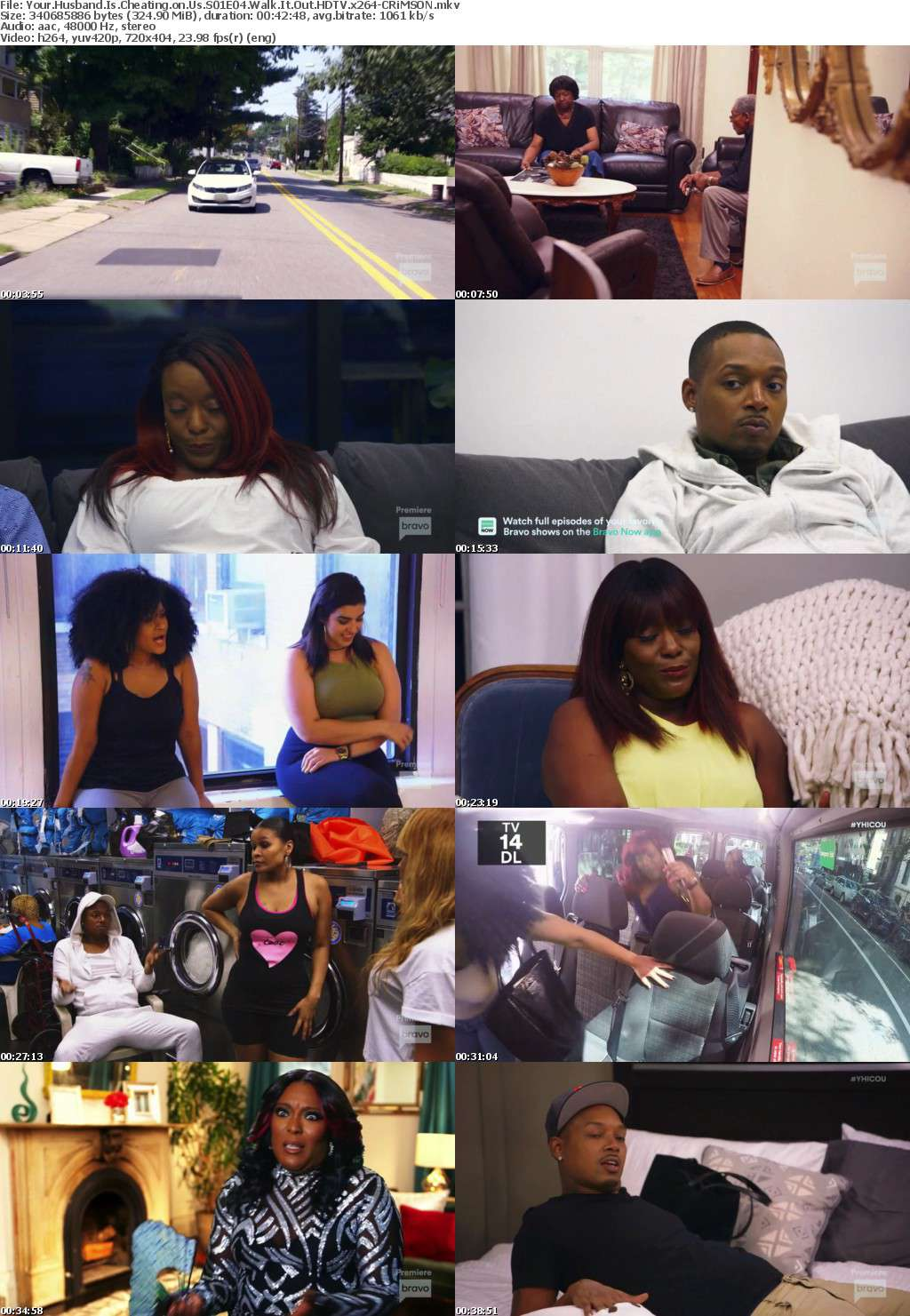 Your Husband Is Cheating on Us S01E04 Walk It Out HDTV x264-CRiMSON