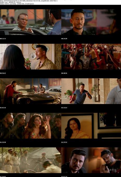 Baaghi 2 (2018) HINDI 720p UntoucheD WEB HD AVC AAC E-Subs-Movcr