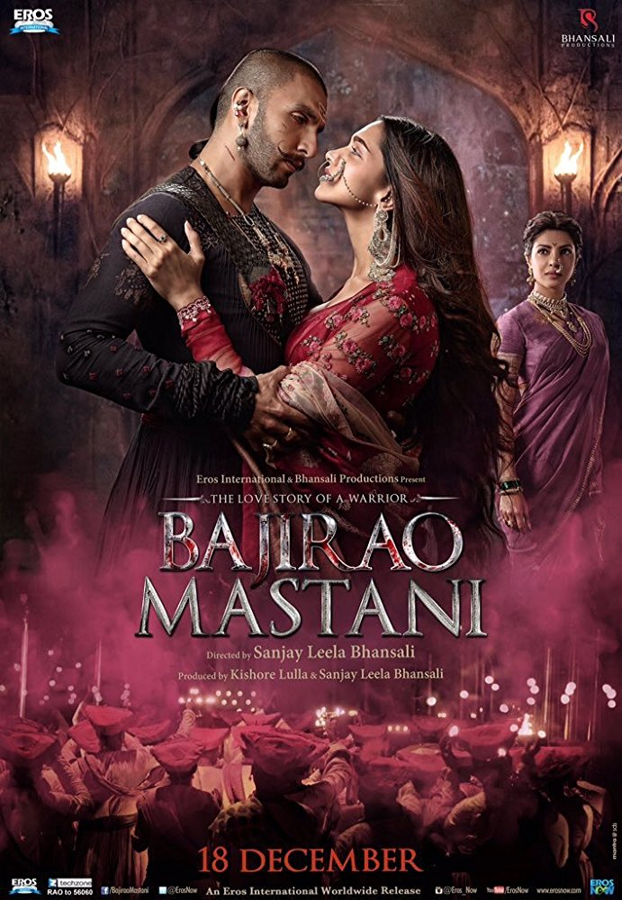 Bajirao Mastani (2015) Hindi 1080p BluRay DD 5 1 x264 ESub MW