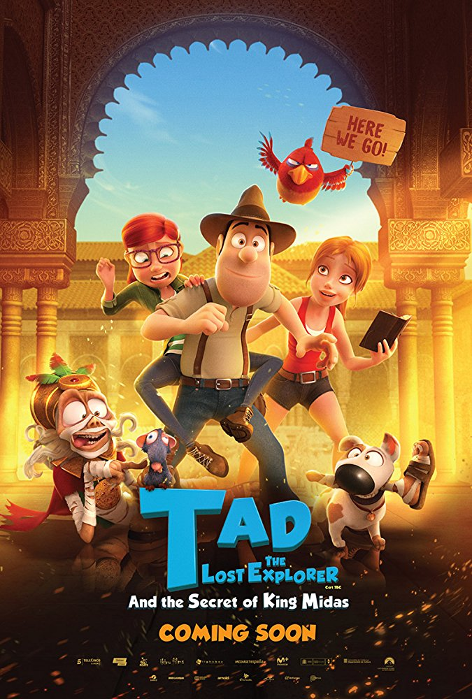 Tad the Lost Explorer and the Secret of King Midas (2017) [BluRay] [1080p] YIFY