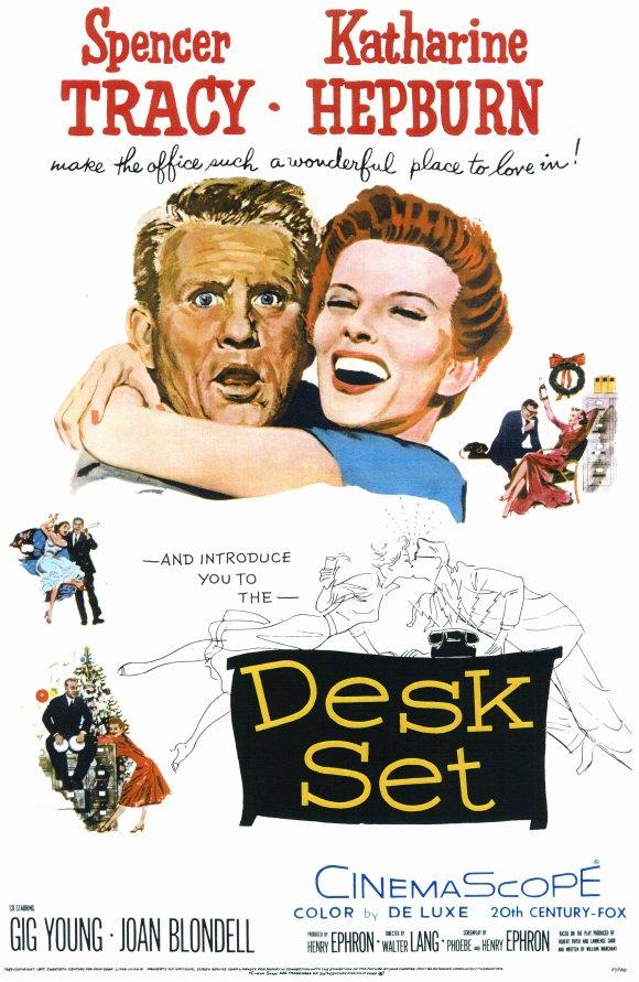 Desk Set 1957 BRRip XviD MP3-XVID