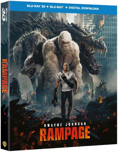 Rampage (2018) 1080p BluRay Multi Original Auds DD5.1 448Kbps  [Telugu+Tamil+Hindi+Eng]-DLW