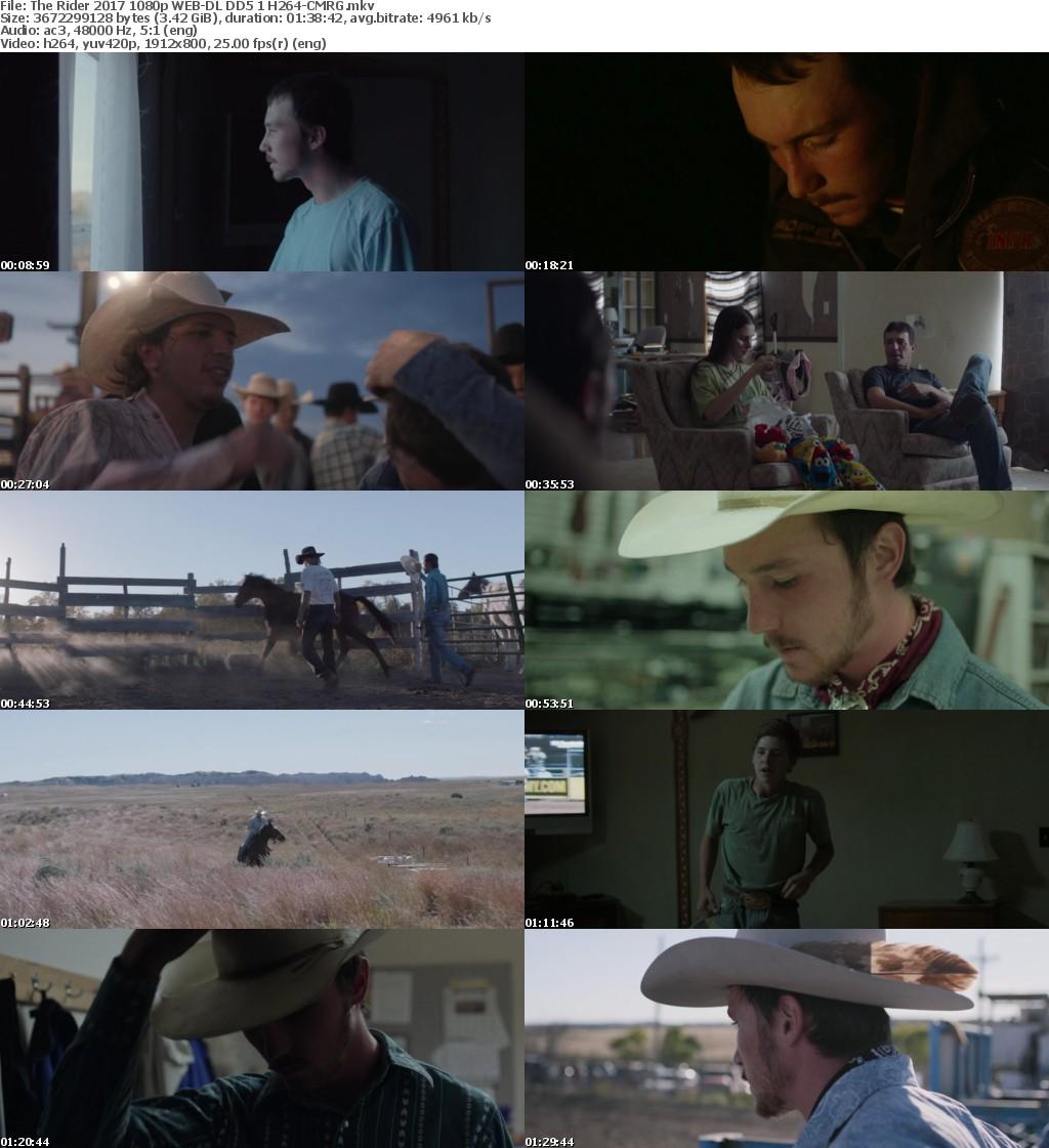 The Rider 2017 1080p WEB-DL DD5 1 H264-CMRG