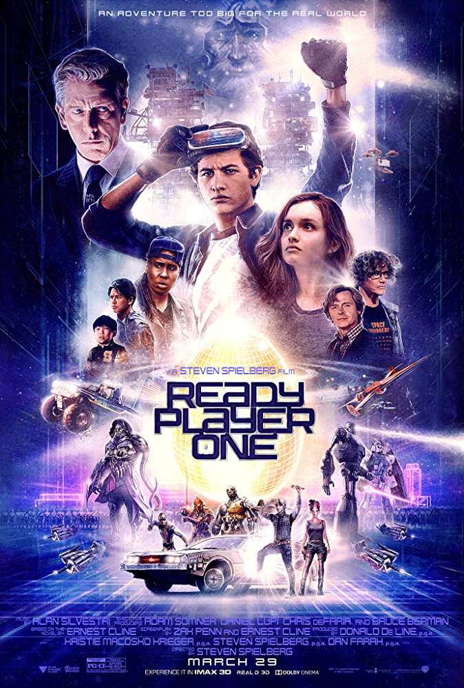 Ready Player One 2018 Movies BRRip x264 AAC with Sample