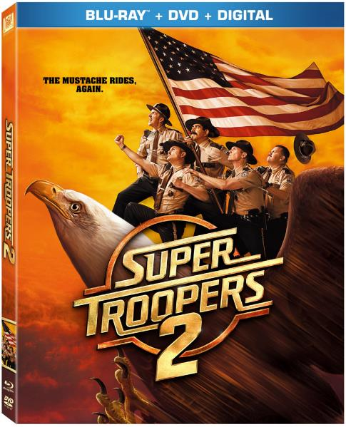 Super Troopers 2 (2018) 720p WEB-DL x264 800MB ESubs - MkvHub