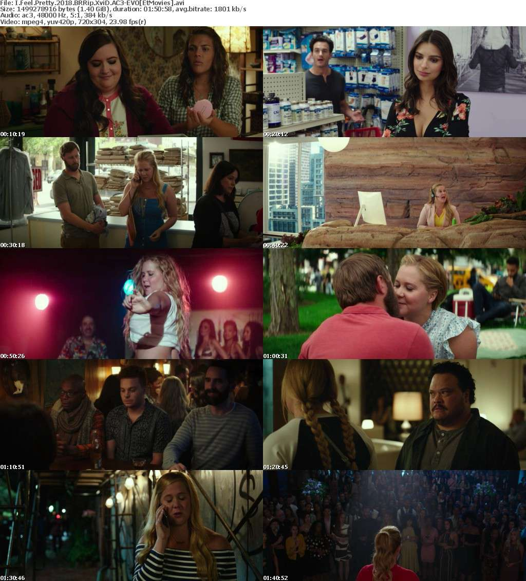 I Feel Pretty 2018 BRRip XviD AC3-EVO[EtMovies]
