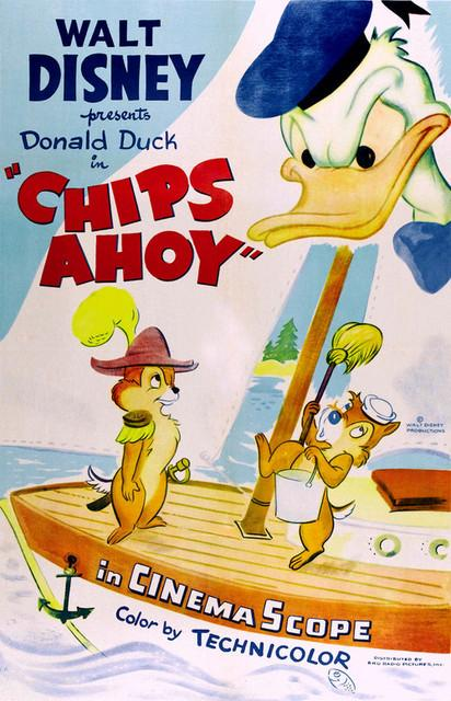 Chips Ahoy (1956)-Walt Disney-1080p-H264-AC 3 (DTS 5 1) Remastered nickarad