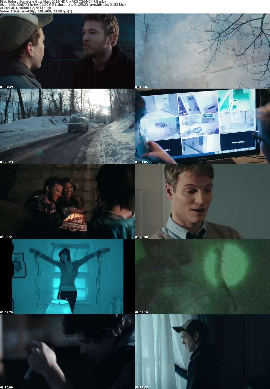 Before Someone Gets Hurt (2018) HDRip AC3 X264-CMRG