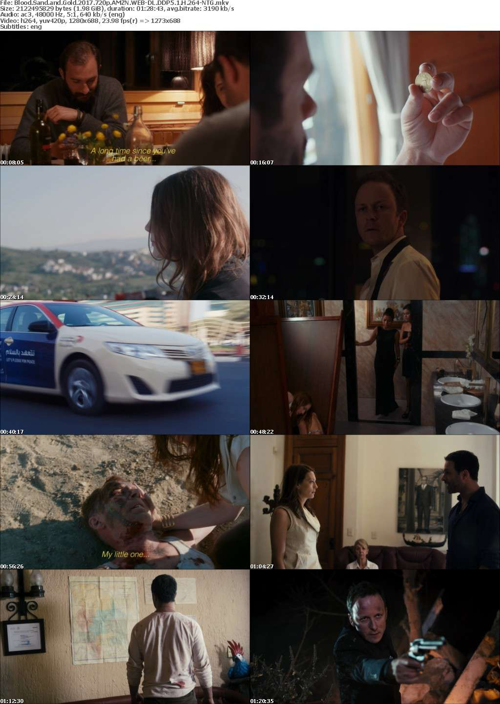 Blood Sand and Gold 2017 720p AMZN WEBRip DDP5 1 x264-NTG