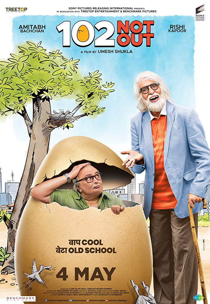 102 Not Out (2018) 720p WebRip x264 AC3 5 1 ESub-DTOne Exclusive