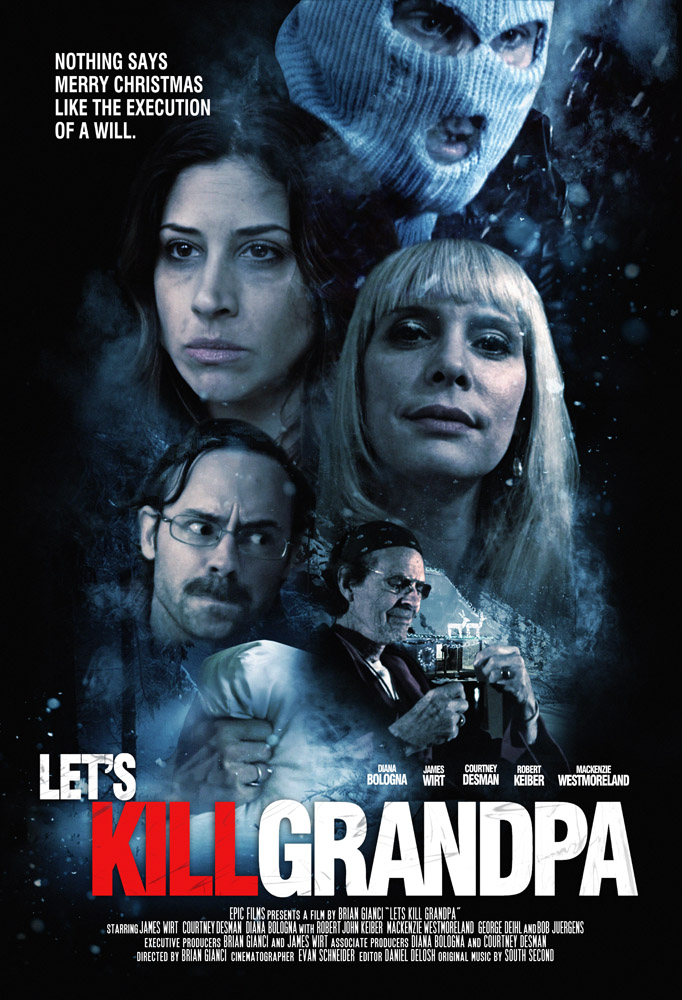 Lets Kill Grandpa (2017) HDRip XviD AC3-EVO