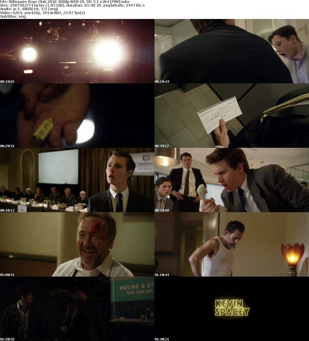 Billionaire Boys Club (2018) 1080p WEB-DL DD 5.1 x264 MW
