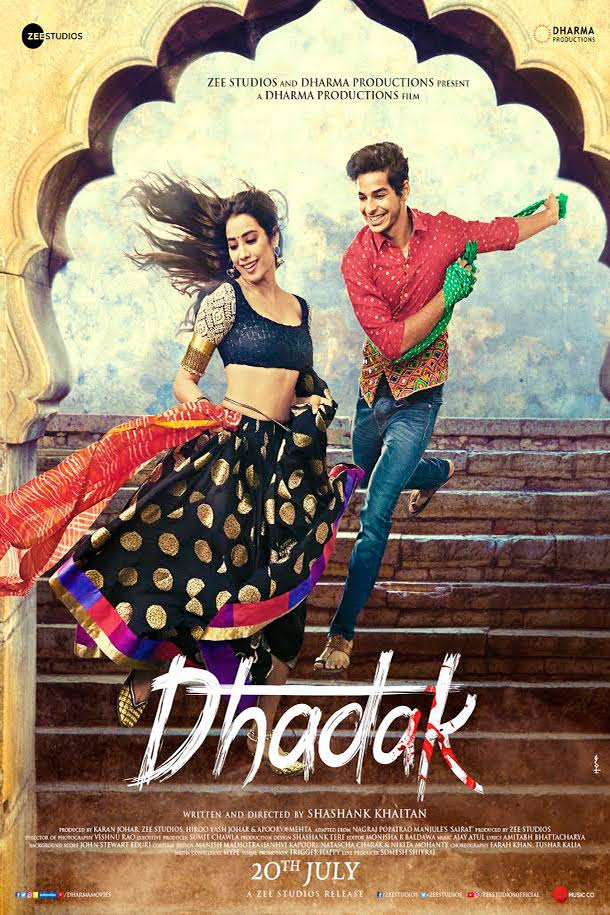 Dhadak 2018 Hindi 720p PreDvDRip x264 AAC - xRG