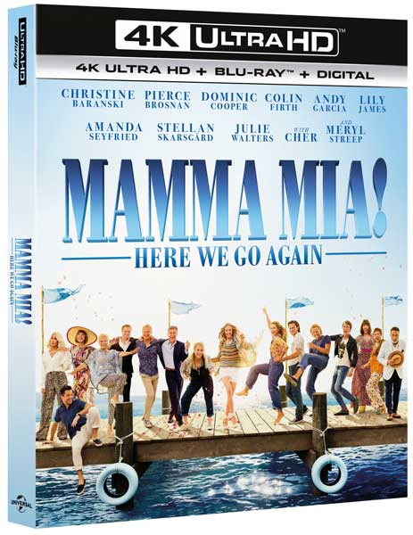 Mamma Mia Here We Go Again (2018) 720p HDCAM x264 MW