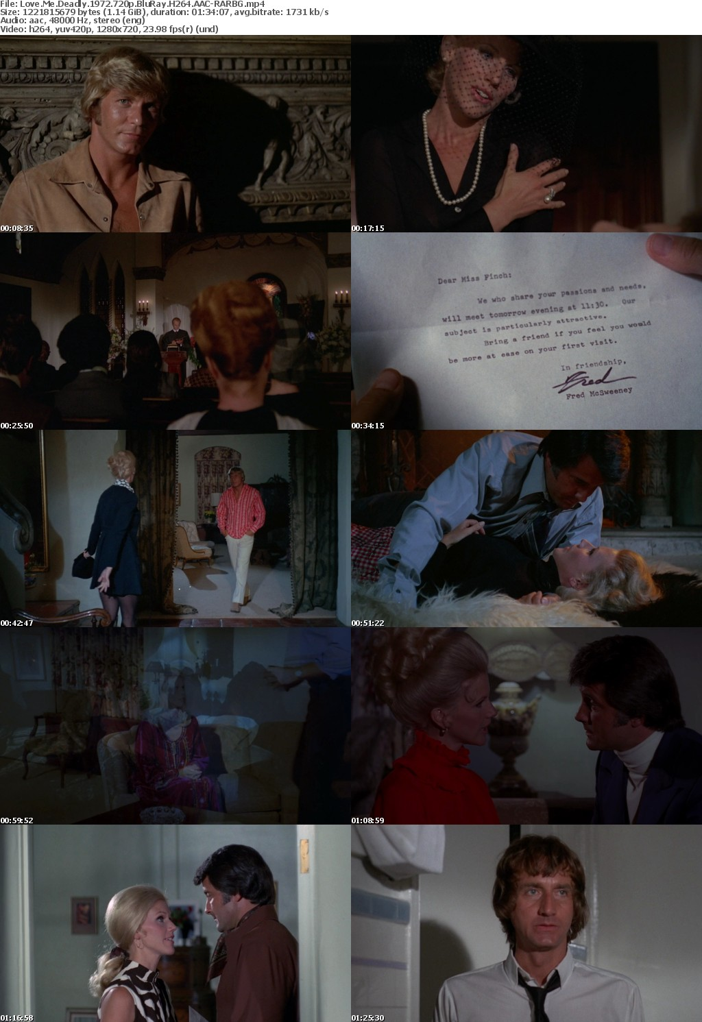 Love Me Deadly 1972 720p BluRay H264 AAC-RARBG