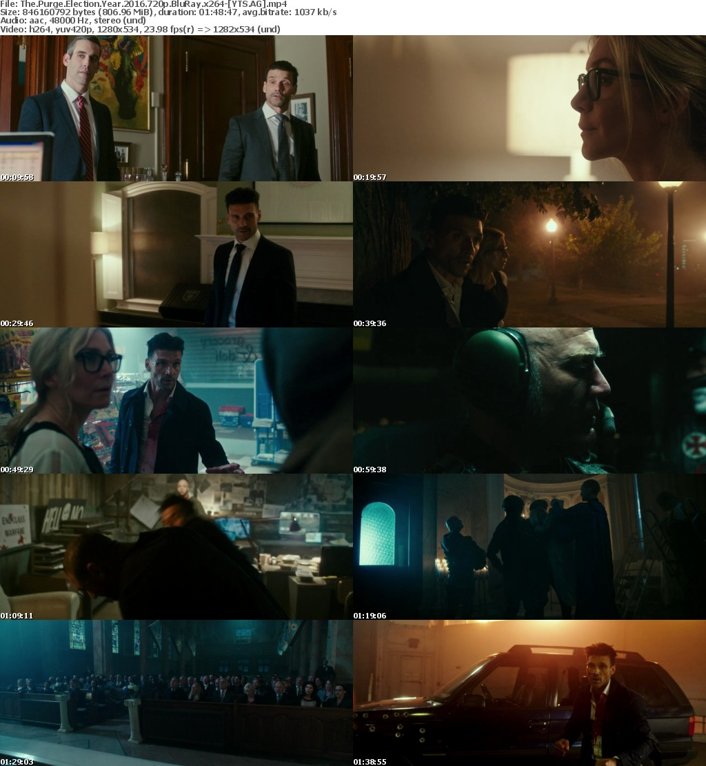 The Purge Election Year (2016) [BluRay] [720p] YIFY