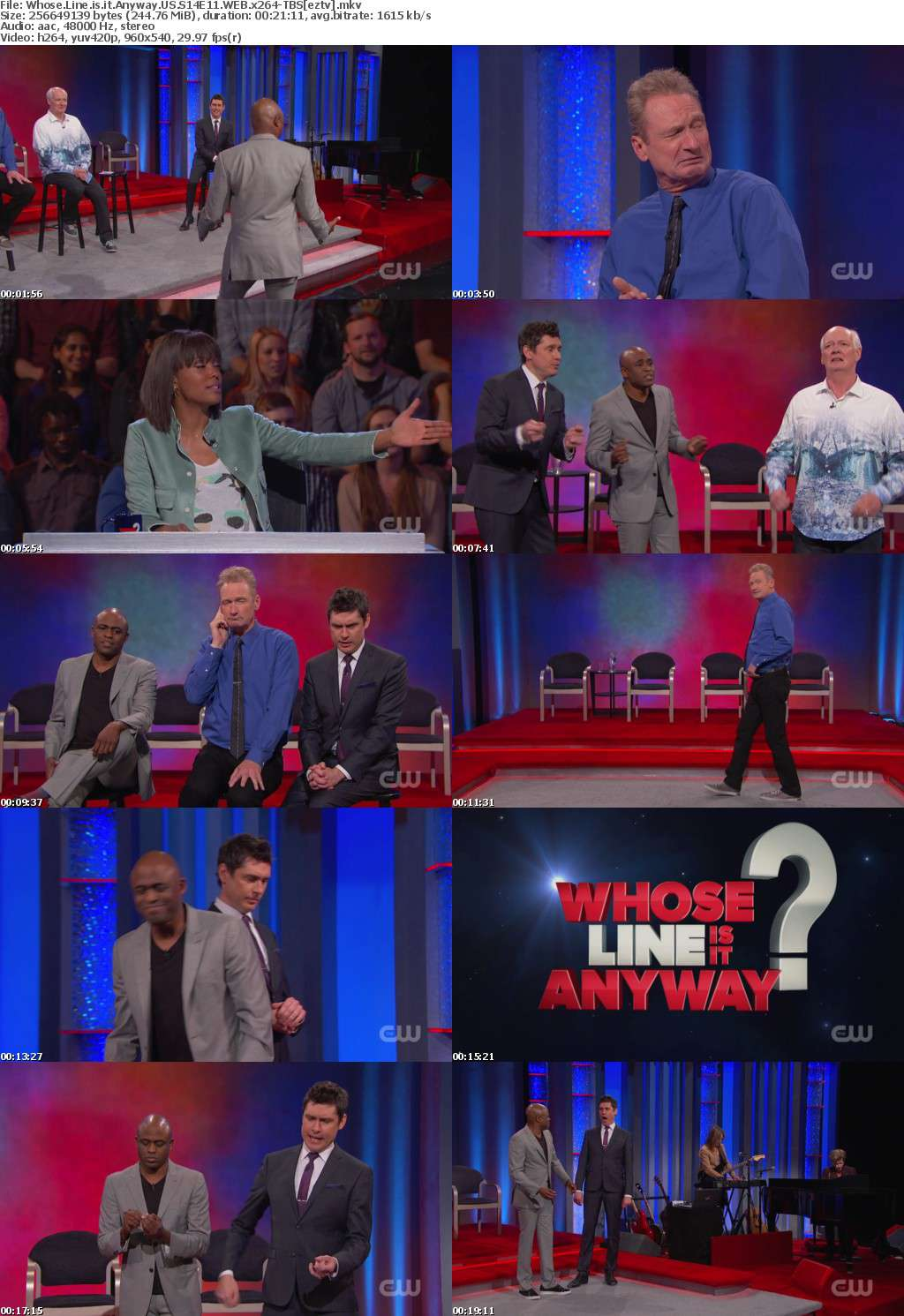 Whose Line is it Anyway US S14E11 WEB x264-TBS