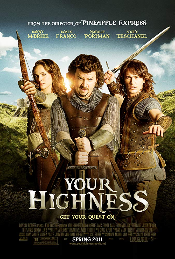Your Highness 2011 UNRATED 1080p BluRay x264 Dual Audio Hindi DD 5 1 - English DD 5 1 ESub MW