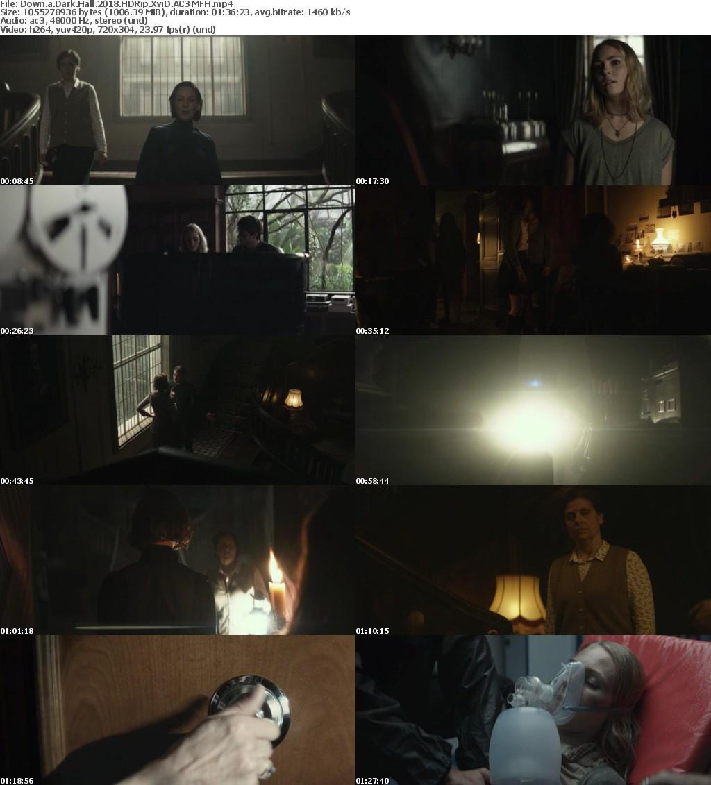 Down a Dark Hall (2018) HDRip XviD AC3 MFH
