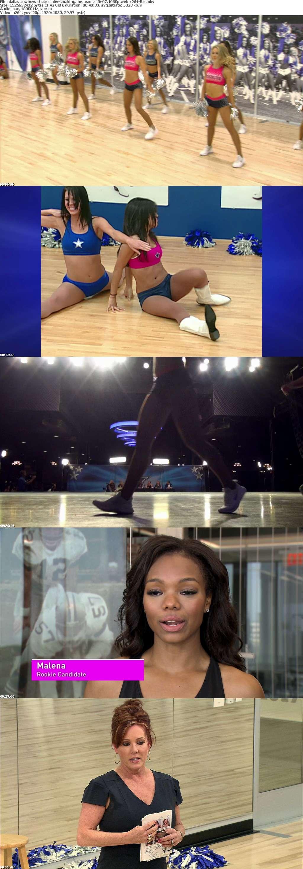 Dallas Cowboys Cheerleaders Making the Team S13E07 1080p WEB x264-TBS