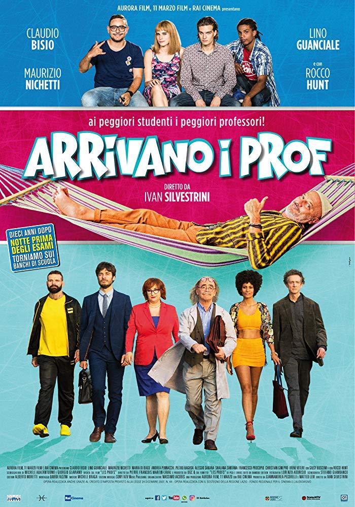 Arrivano I Prof (2018) 1080p H264 italian Ac3-5 1 sub ita eng-BaMax71-MIRCrew