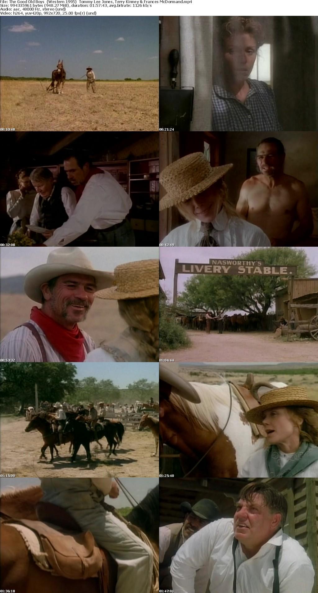 The Good Old Boys (Western 1995) Tommy Lee Jones 720p