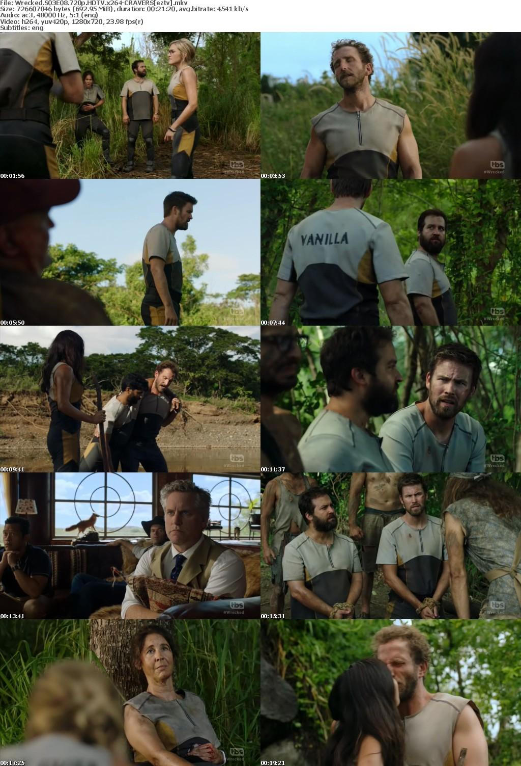 Wrecked S03E08 720p HDTV x264-CRAVERS
