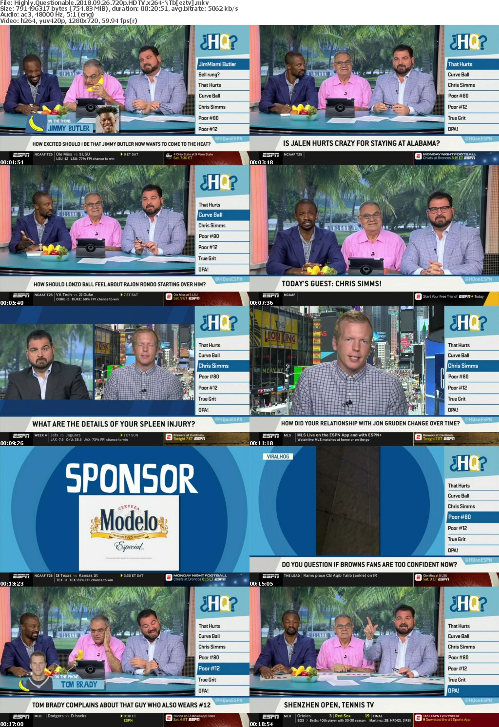 Highly Questionable 2018 09 26 720p HDTV x264-NTb