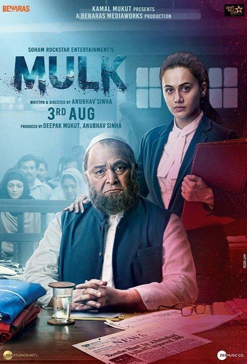Mulk 2018 Hindi 720p WEBRip-H264-AC3 5 1-Zi$t