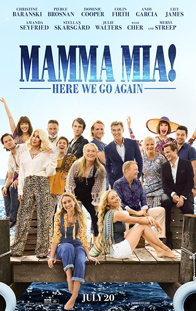Mamma Mia Here We Go Again 2018 HDRip XViD-ETRG