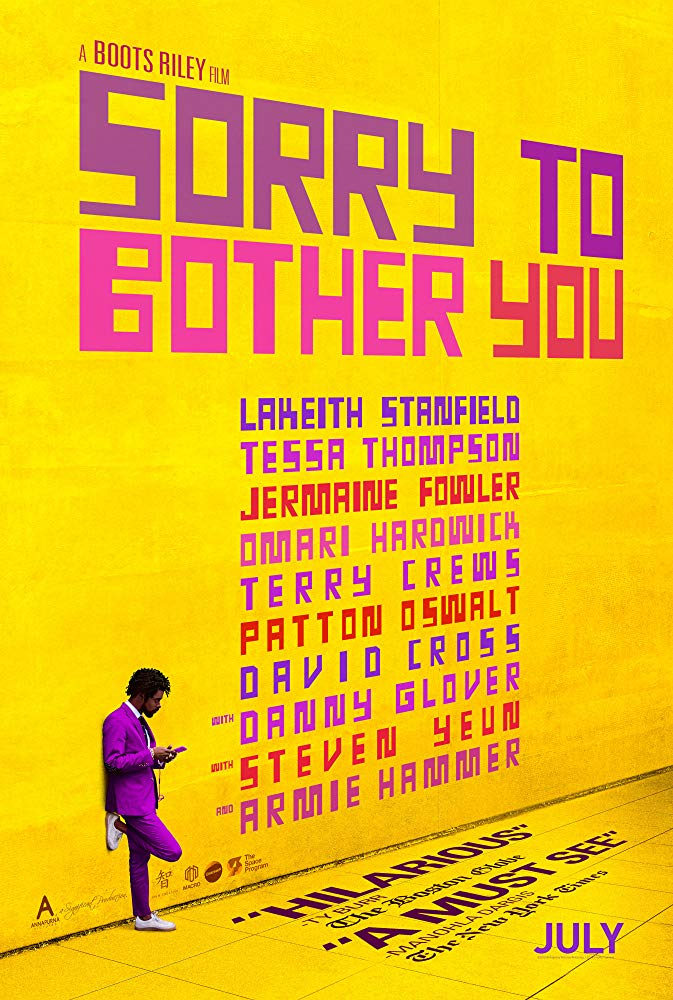 Sorry to Bother You 2018 720p BluRay x264-DRONES
