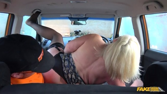 FakeDrivingSchool - Lacey Starr - Busty Mature MILF Fucks Instructor - 15.01.2018 Free Download From pornparadise.org