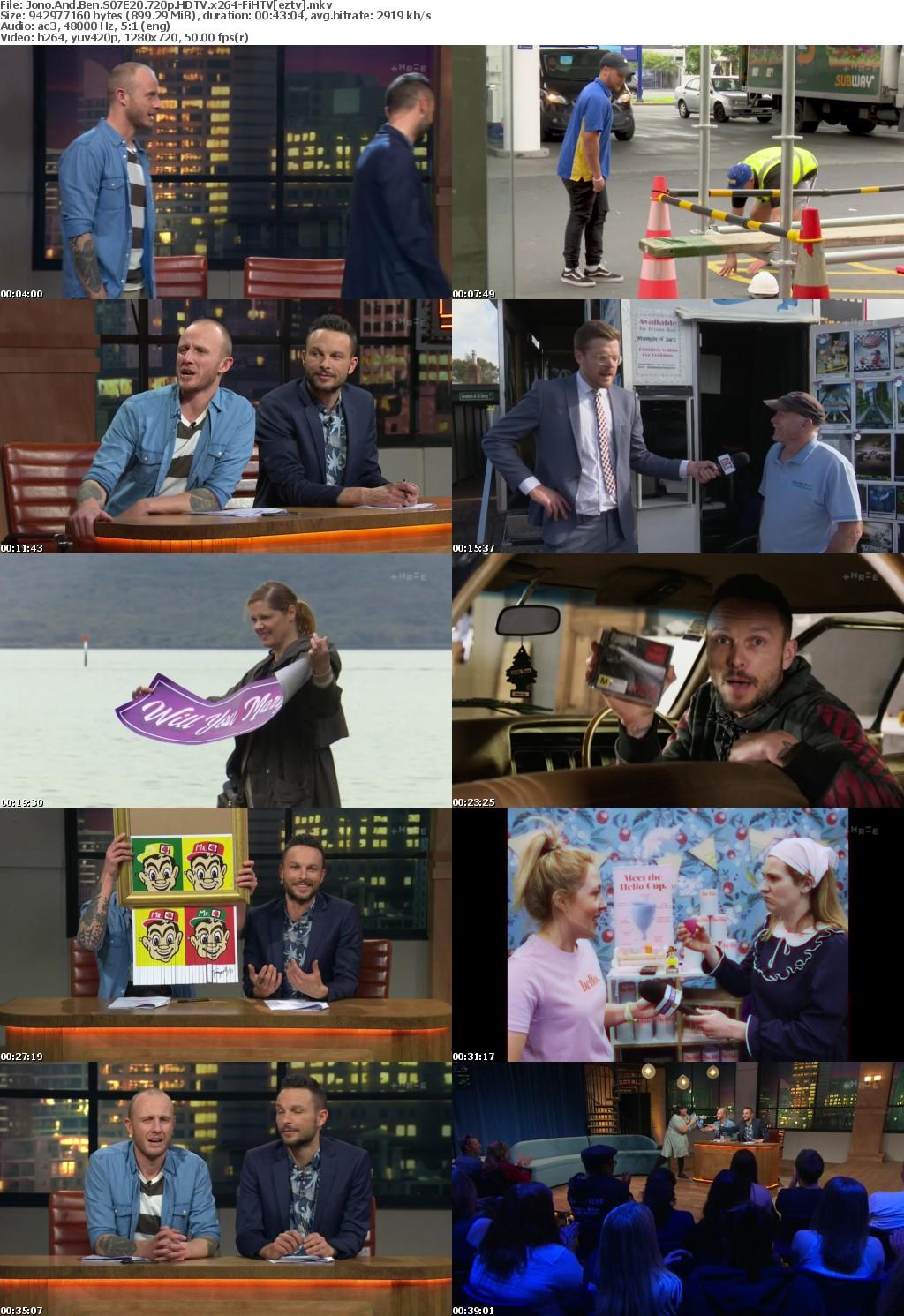 Jono And Ben S07E20 720p HDTV x264-FiHTV