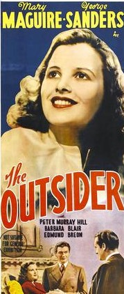 The Outsider 1939 720p BluRay x264-GHOULS