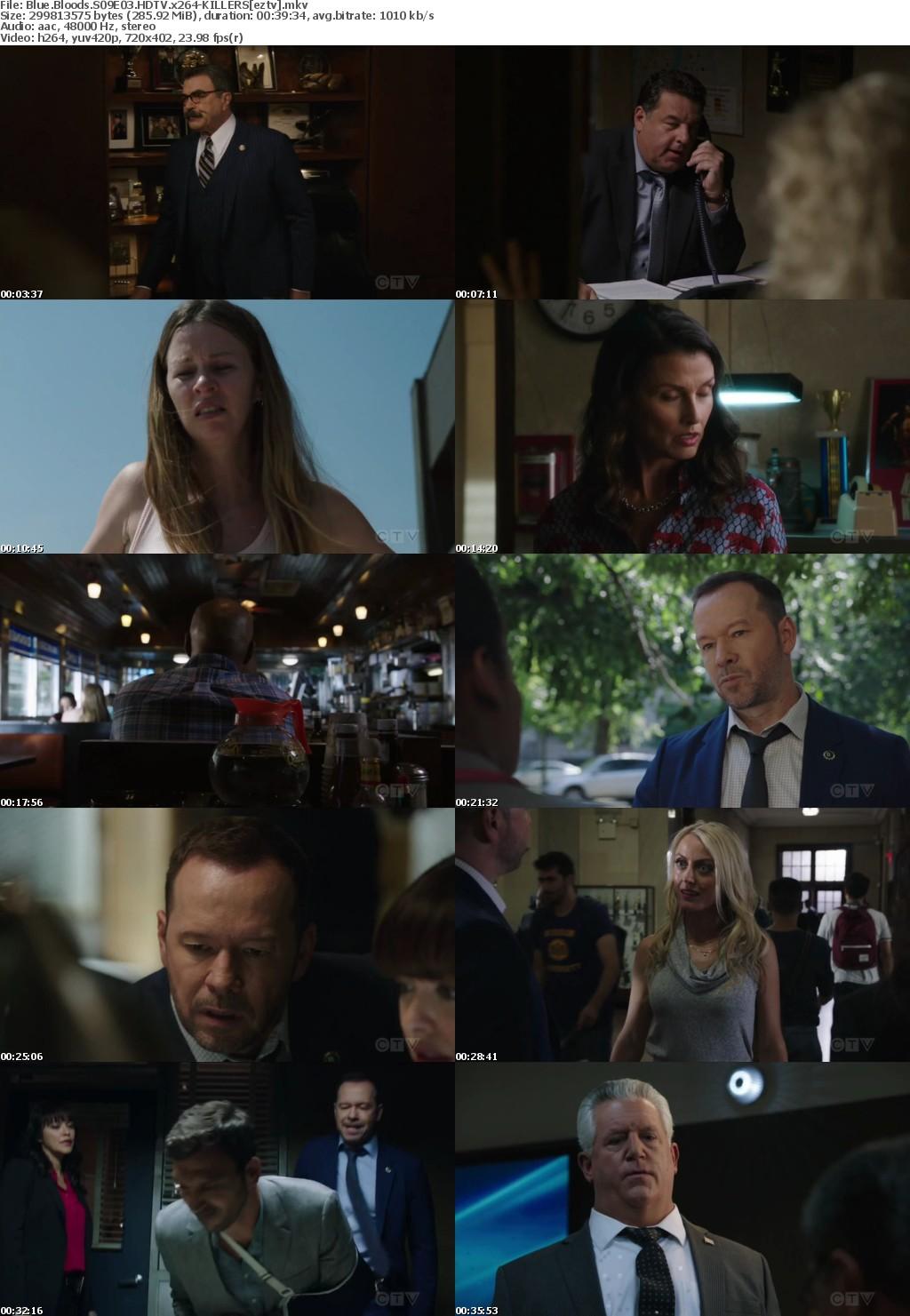 Blue Bloods S09E03 HDTV x264-KILLERS
