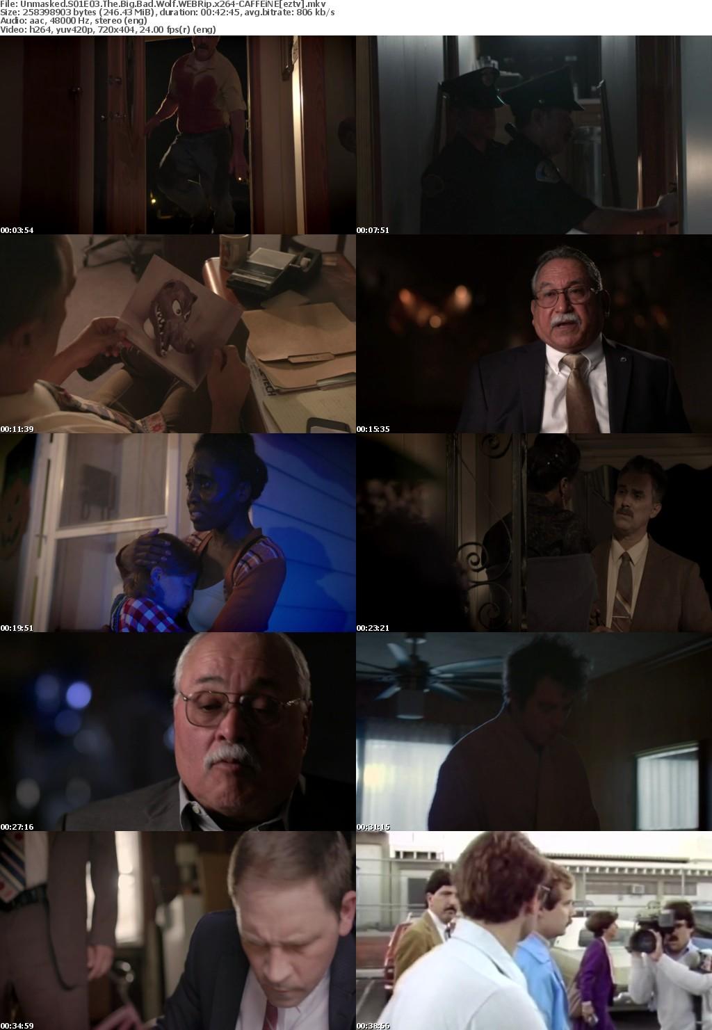 Unmasked S01E03 The Big Bad Wolf WEBRip x264-CAFFEiNE