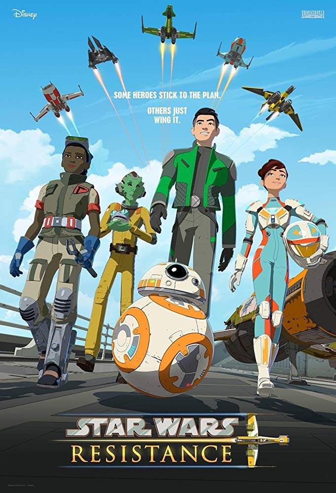 Star Wars Resistance S01E03 Fuel for the Fire 720p WEB-DL DD5.1 AAC2.0 H264-YFN