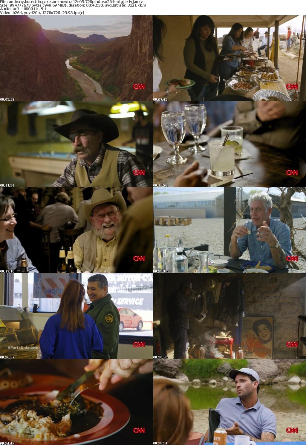 Anthony Bourdain Parts Unknown S12E05 Far West Texas 720p HDTV x264-MiNDTHEGAP