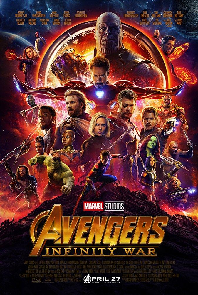 Avengers Infinity War (2018) 1080p WEBRip x264-[MoviesBurn]