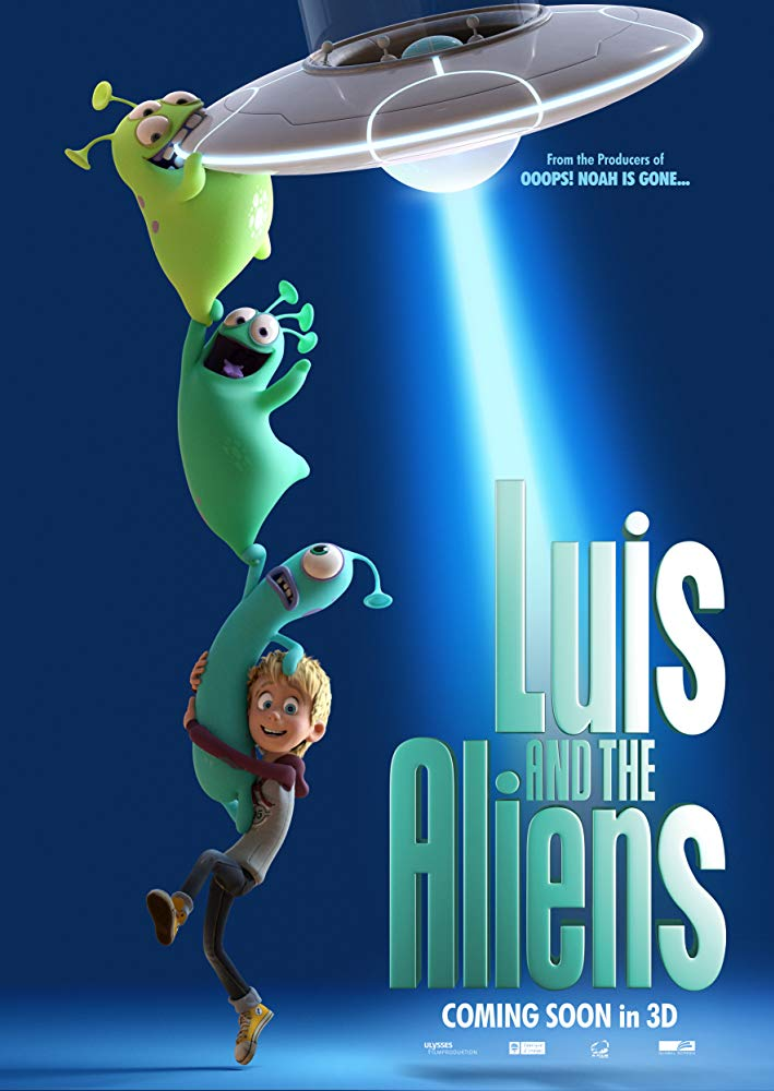 Luis And The Aliens 2018 BDRip x264-SNOW